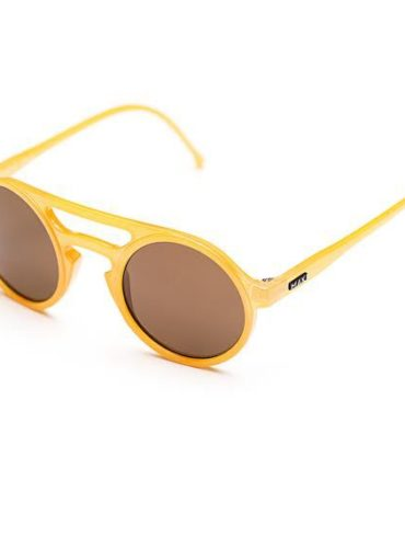 maki sunglasses giallo