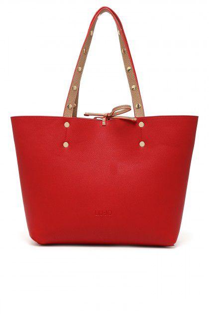 borsa reversibile Liu Jo rossa e beige disponibile in altri colori € 109