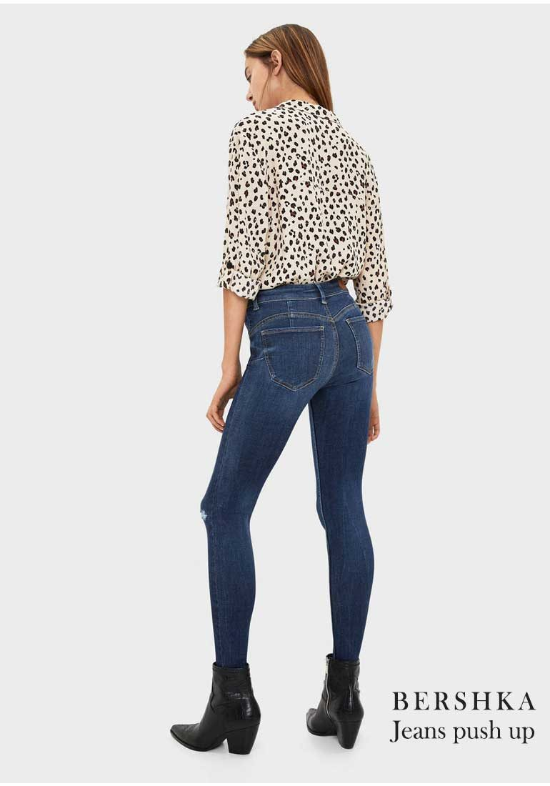 Jeans DOnna AUtunno Inverno 2019 Bershka Jeans Push Up
