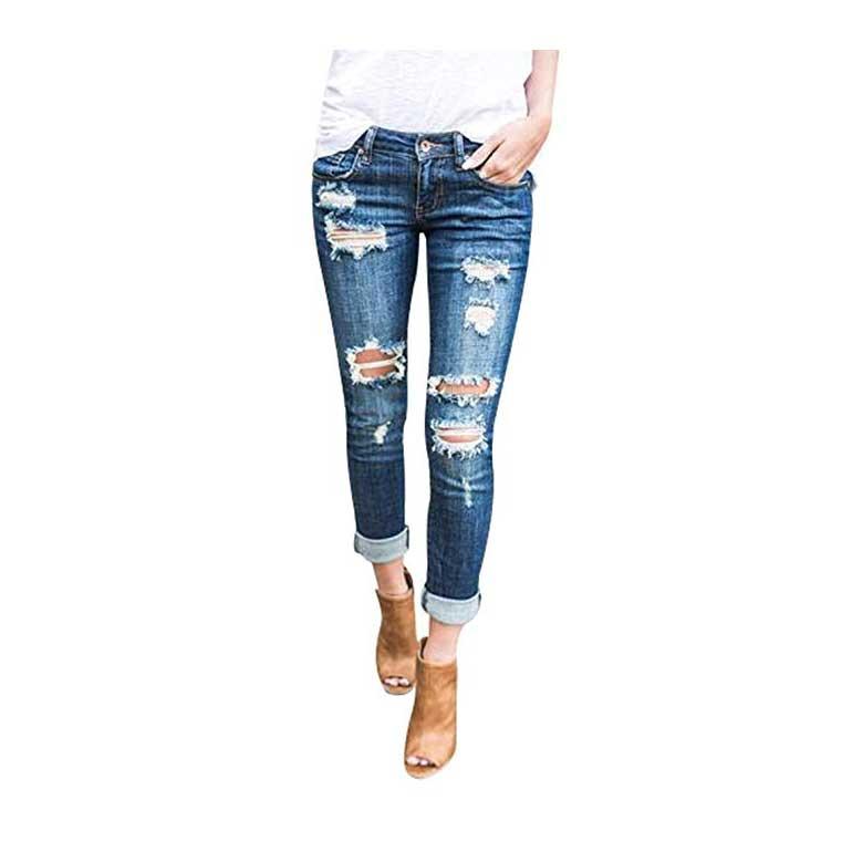 Jeans Donna Vita Media 2019