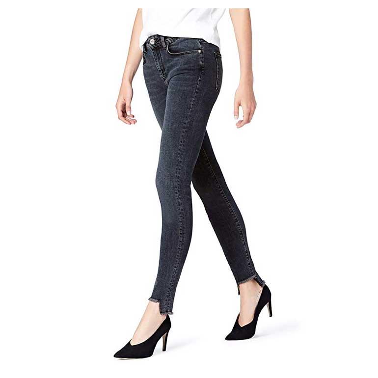 Jeans Skinny a Vita Alta Donna