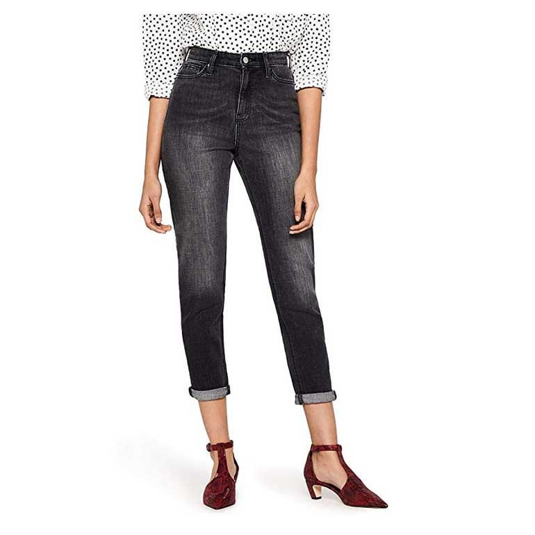 Mom Jeans alla Caviglia a Vita Alta Donna