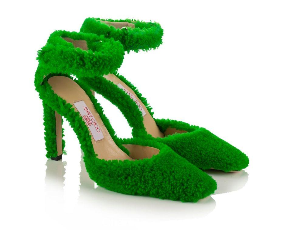 scarpe in shearling