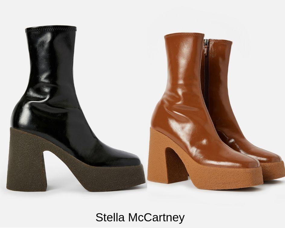 Scarpe con plateau Stella McCartney