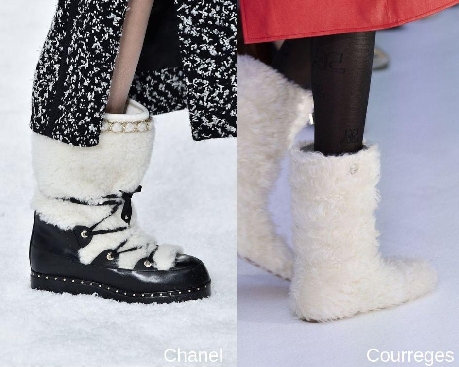 Stivali e scarpe in pelliccia