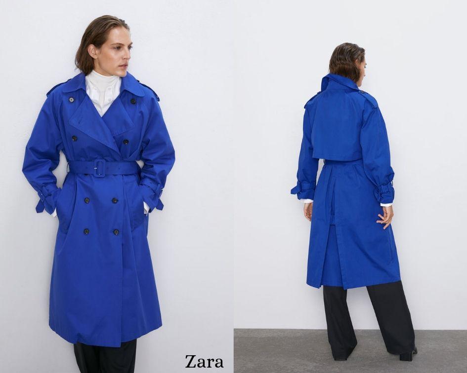 Trench Zara Autunno inverno 2019