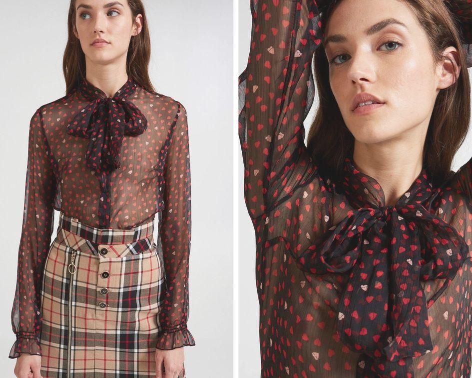 Le bluse della collezione Motivi 2019