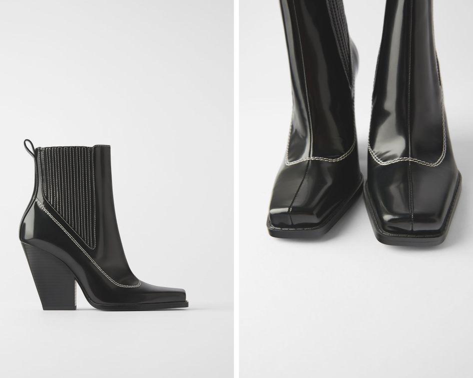 Stivaletti Zara Stay minimal