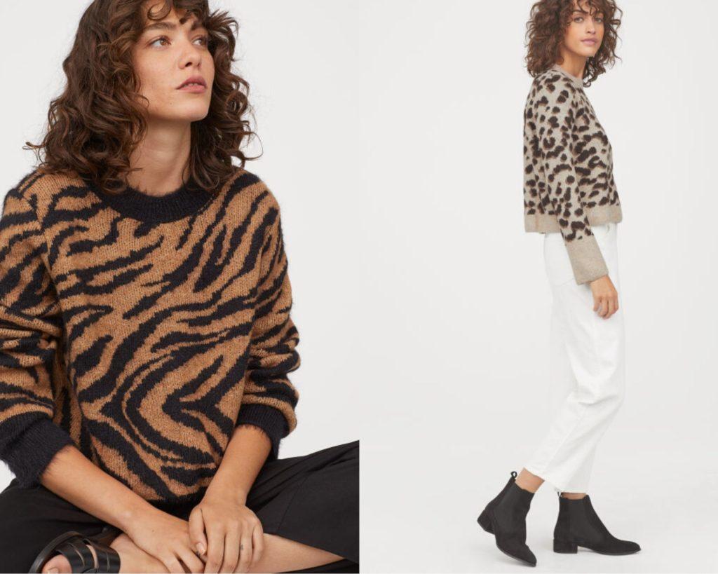 maglione animalier 2020