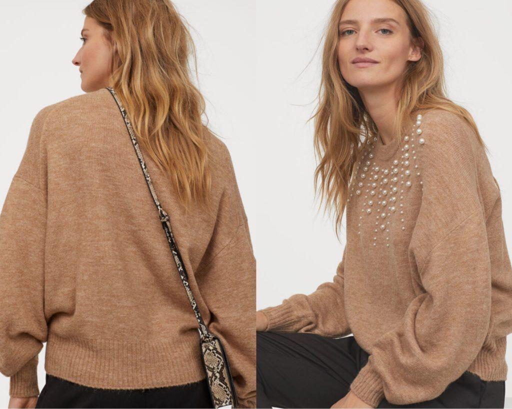 maglia di misto lana di H&M oversize