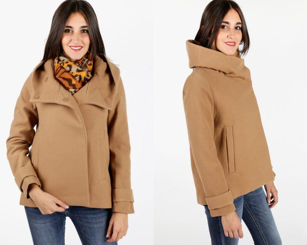 cappotto corto color cammello di Solada