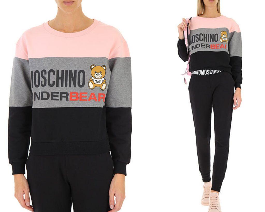 felpa Moschino under bear