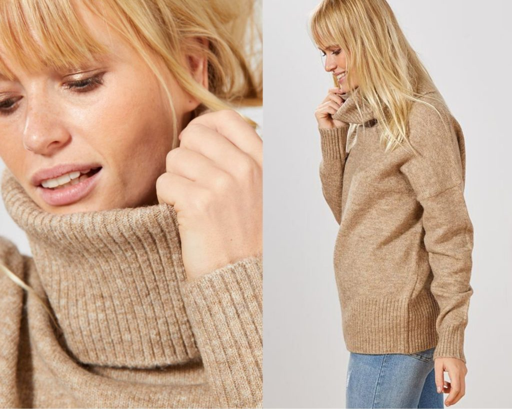 pullover pesante