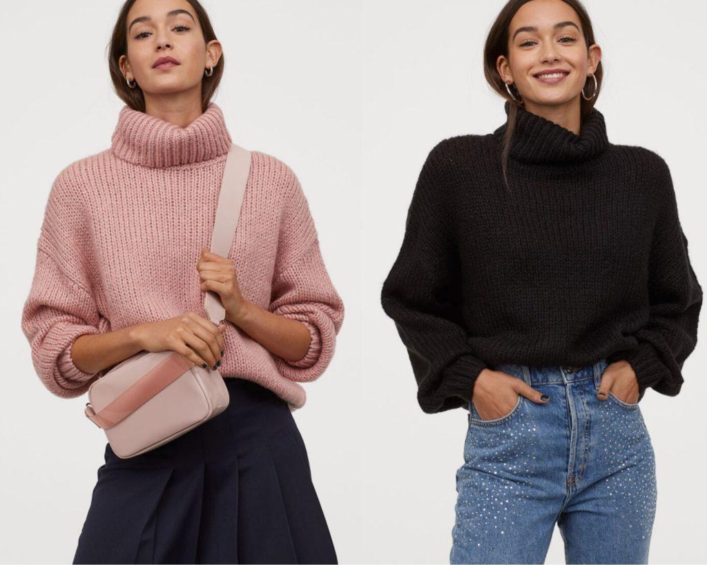 pullover in maglia spessa, H&M,