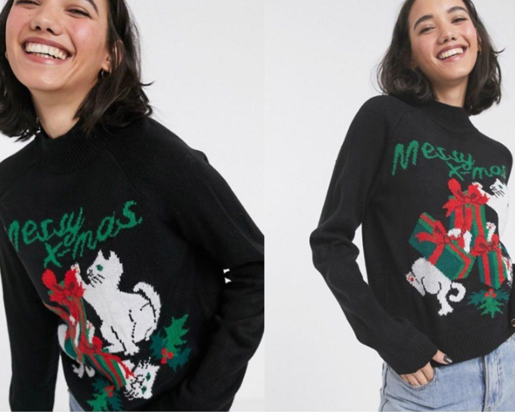 spiritoso maglione natalizio di Monki