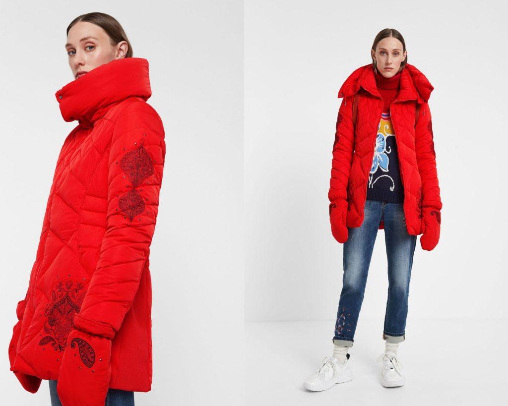 cappotto imbottito Desigual