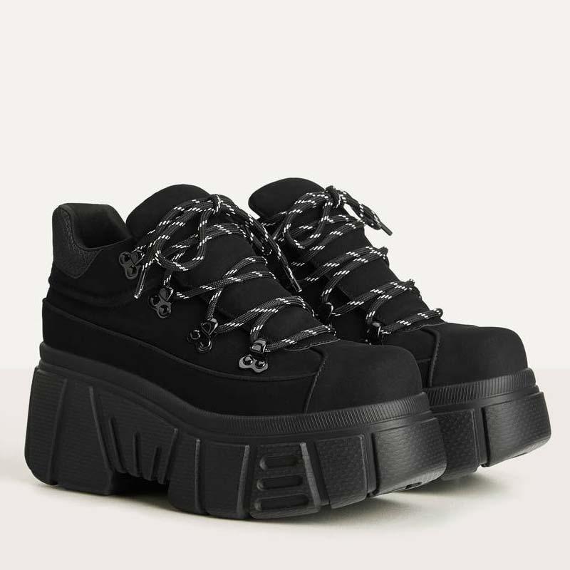 Sneakers alte con suola XL