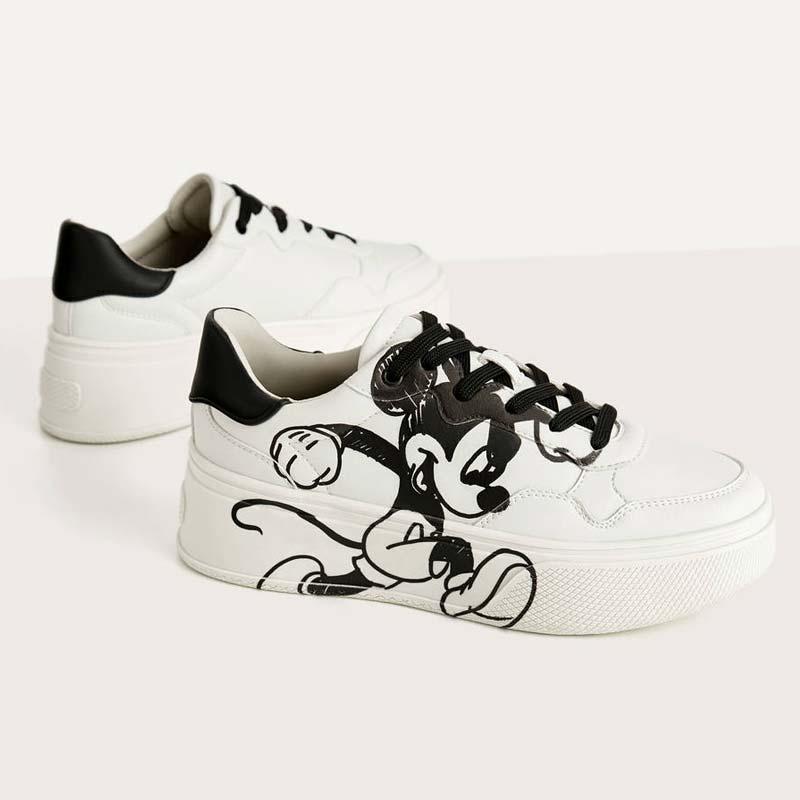 "Sneakers platform ""Topolino Gets Arty"""