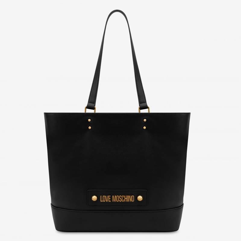 Shopper Moschino con logo