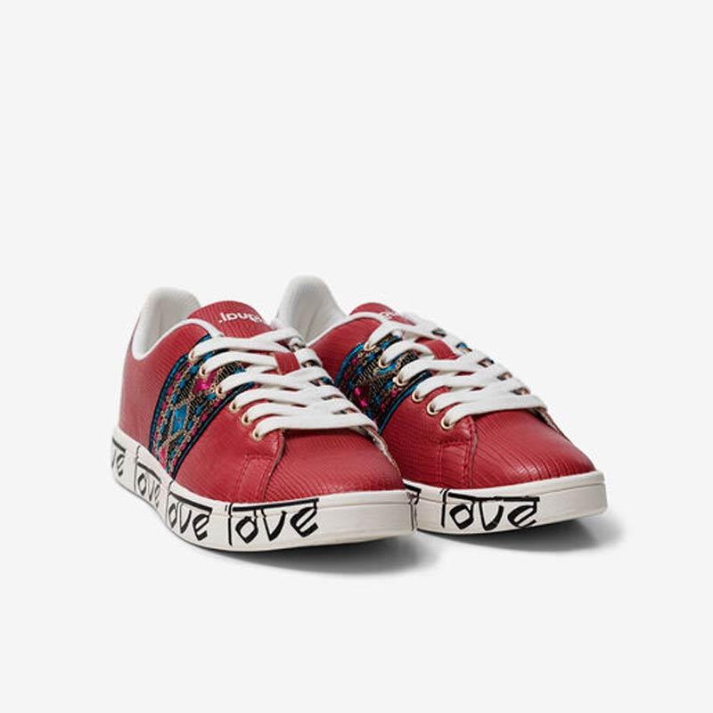 Sneaker Desigual indù LOVE