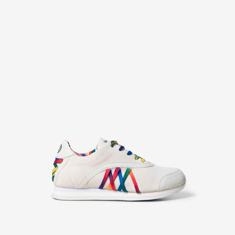 Sneaker Desigual con lacci multicolore